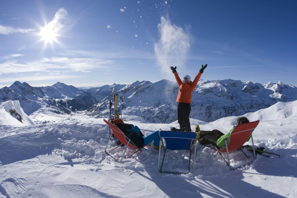 Avant Ski Reisen, Skiszene im Skigebiet Obertauern,